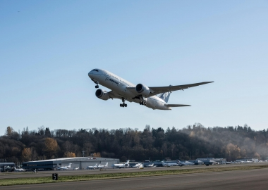 Rolls-Royce Trent 1000 TEN powers B787 for first time