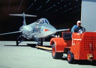 History Hour: Roll out of F-104A Starfighter