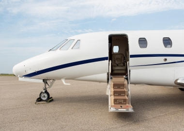 Flying to Europe? Real value of chartering private jet locally