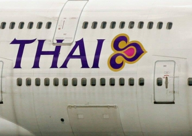 THAI Airways workers demonstrate due to corruption allegations