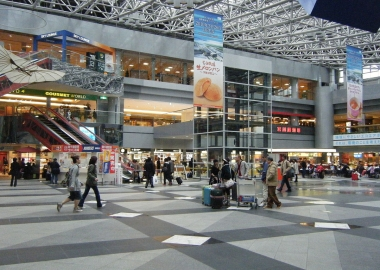Japanese airports partially reopen after Typhoon and earthquake