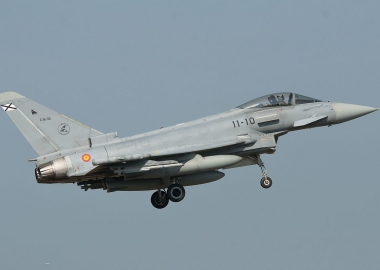 Spanish Eurofighter accidentally fires missile near Russia border
