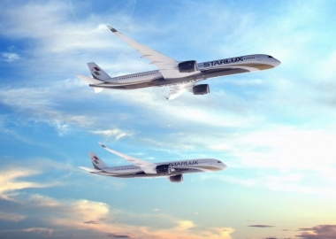 Starlux Airlines signs firm order for 17 A350XWB