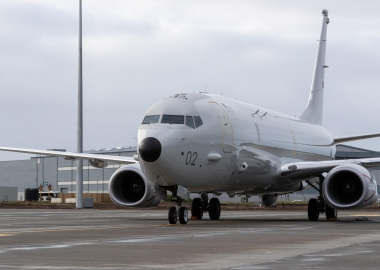 RAF P-8 Poseidon submarine hunters arrive in definitive base