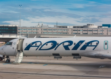 Adria Airways temporarily suspends flights