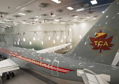 Air Canada pays homage to its former name with retro livery