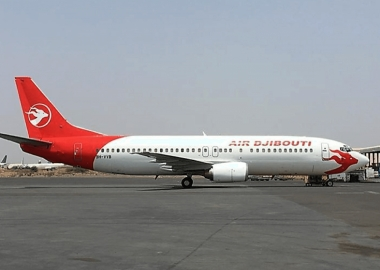 Air Djibouti Boeing 737 landing gear collapses on touchdown