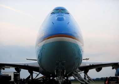 US lawmakers seek to block Trump's plans for Air Force One livery