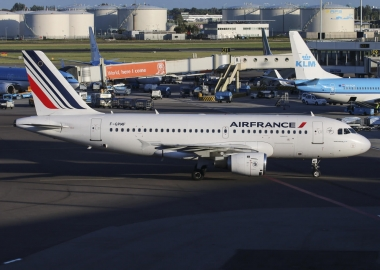Air France Airbus A319 at Schipol International Airport aerotime