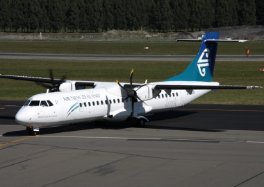 Air New Zealand ATR 72 turboprop aircraft