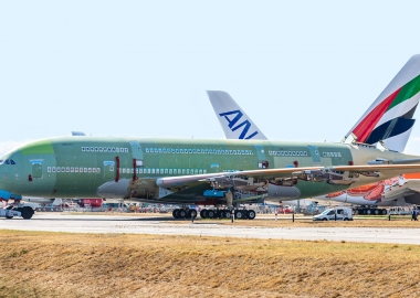 Last Airbus A380 takes shape in Toulouse station 40