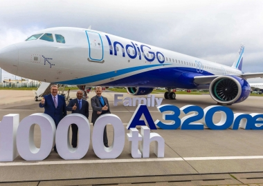 Airbus delivers 1000th A320neo to IndiGo