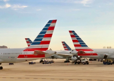 American Airlines aircraft at Phoenix International Airport PHX