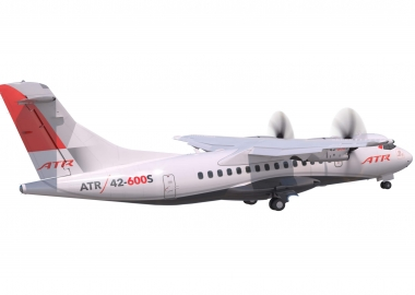 ATR launches plane for short take-off and landing