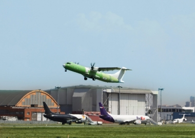 ATR 72-600F performs maiden flight, set to be delivered to FedEx