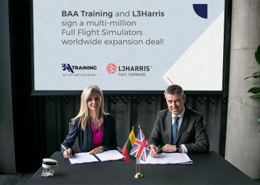 BAA Training and L3Harris Technologies sign a multimillion-dollar