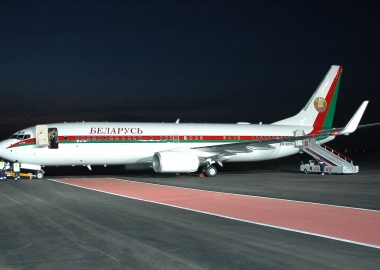 Lukashenko plane maintenance takes place despite union protest