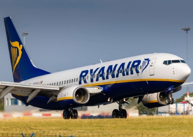 Boeing 737 of Ryanair