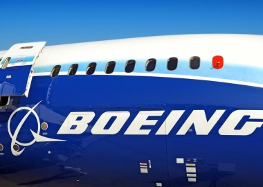 Boeing 787 Dreamliner with stock Boeing livery