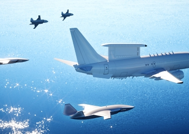 "Boeing Australia unveils new support UAV concept ""Loyal Wingman"""
