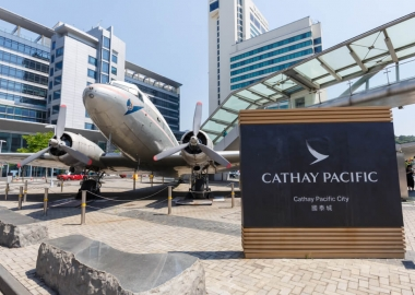 Cathay Pacific City, the offices of Cathay Pacific in Hong Kong