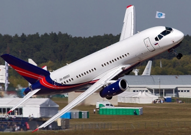 Sukhoi Superjet 100 changes hands… and name