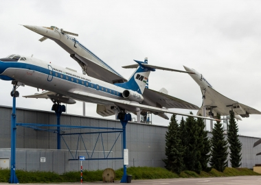 Concorde and Tupolev Tu-144 at Sinsheim Museum