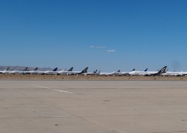 Biggest aircraft boneyards in the world