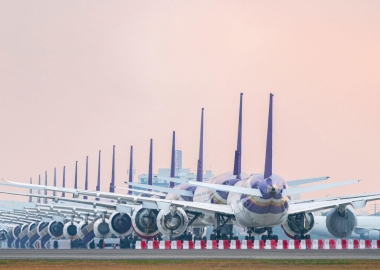 Crapload of stored aircraft