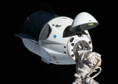 SpaceX Crew Dragon's automatic docking to ISS