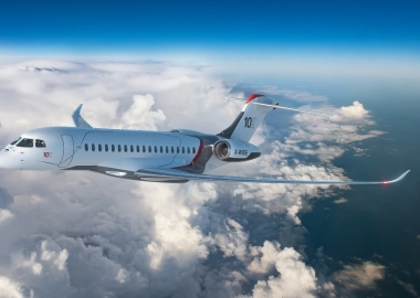 Dassault unveils its largest business jet yet: the Falcon 10X