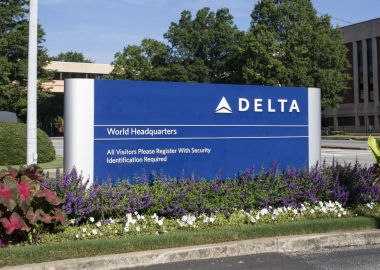 Delta Air Lines headquarters in Atlanta, Georgia