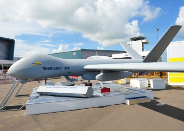 Elbit Systems Hermes 900 unmanned aerial vehicle (UAV)