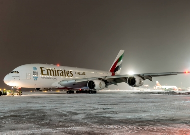 Emirates to continue flying A380, expects advantage in future