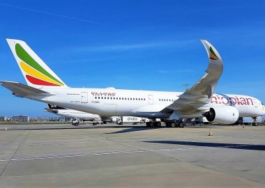Ethiopian Airlines Cargo Aircraft Airbus 350, ET-ATY
