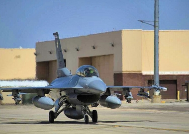 USAF F-16 fighter jet crashes during training in New Mexico