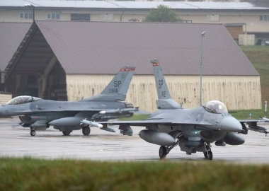 US F-16 fighter jet crashes during training near Trier, Germany