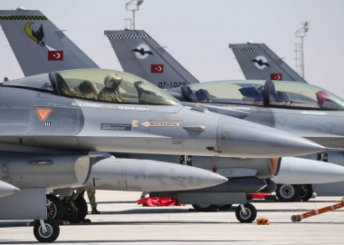 Turkish F-16 deployment in Azerbaijan proved by satellite imagery