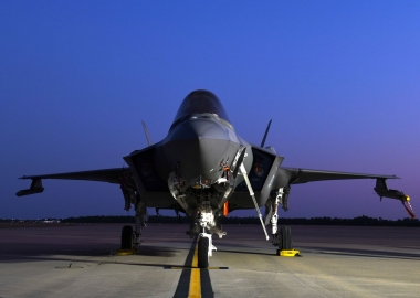 US Air Force F-35 crashes while landing in Florida base