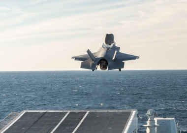 Italian aircraft carrier Cavour completes F-35B certification