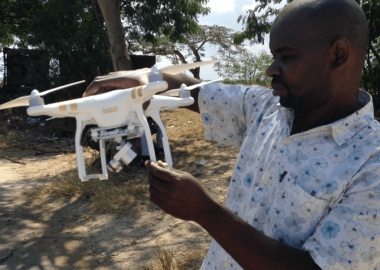 How drones are being used in Zanzibar's fight against malaria