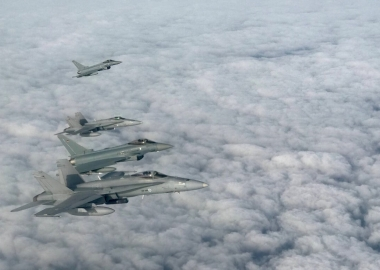 Sweden, Finland join NATO air forces for policing exercise