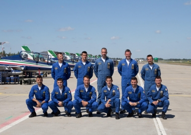 Exclusive interview with Gaetano Farina, Frecce Tricolori