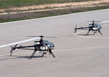 IAI introduces helicopter drones to manage wide-area surveillance