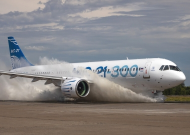 MC-21-300 successfully achieves water operation tests