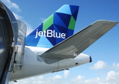 JetBlue Airbus A321 aircraft tail