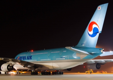 Korean Air ends year with $213 million operating profit