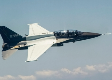 Lockheed Martin completes T-50A configured plane's test flight