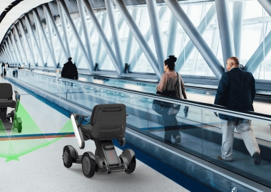 JAL introduced autonomous mobility service at Haneda airport