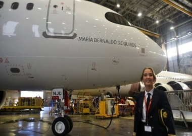 First female name on Iberia's Airbus A320neo